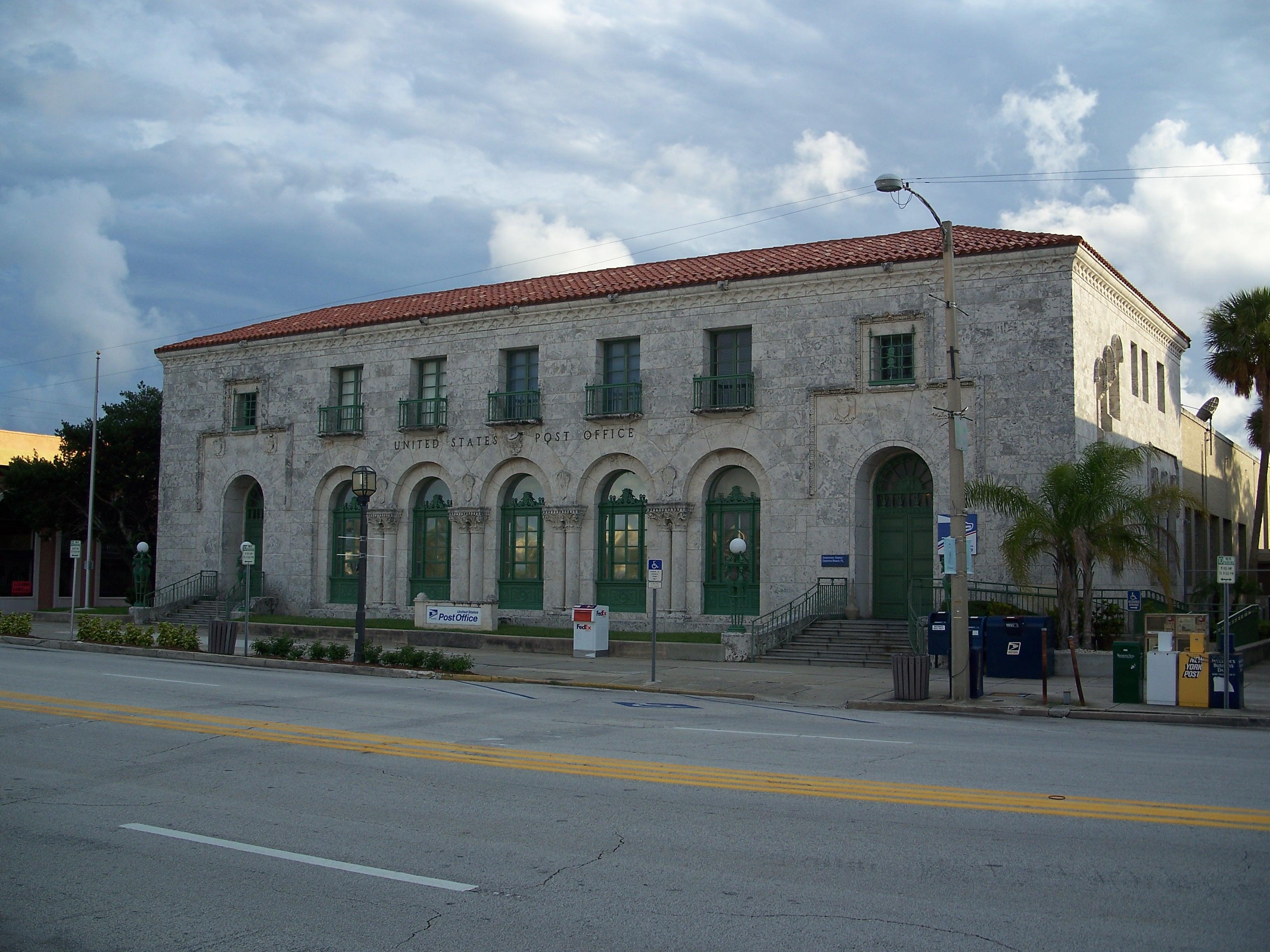 Daytona Beach Post Office Bill France Boulevard