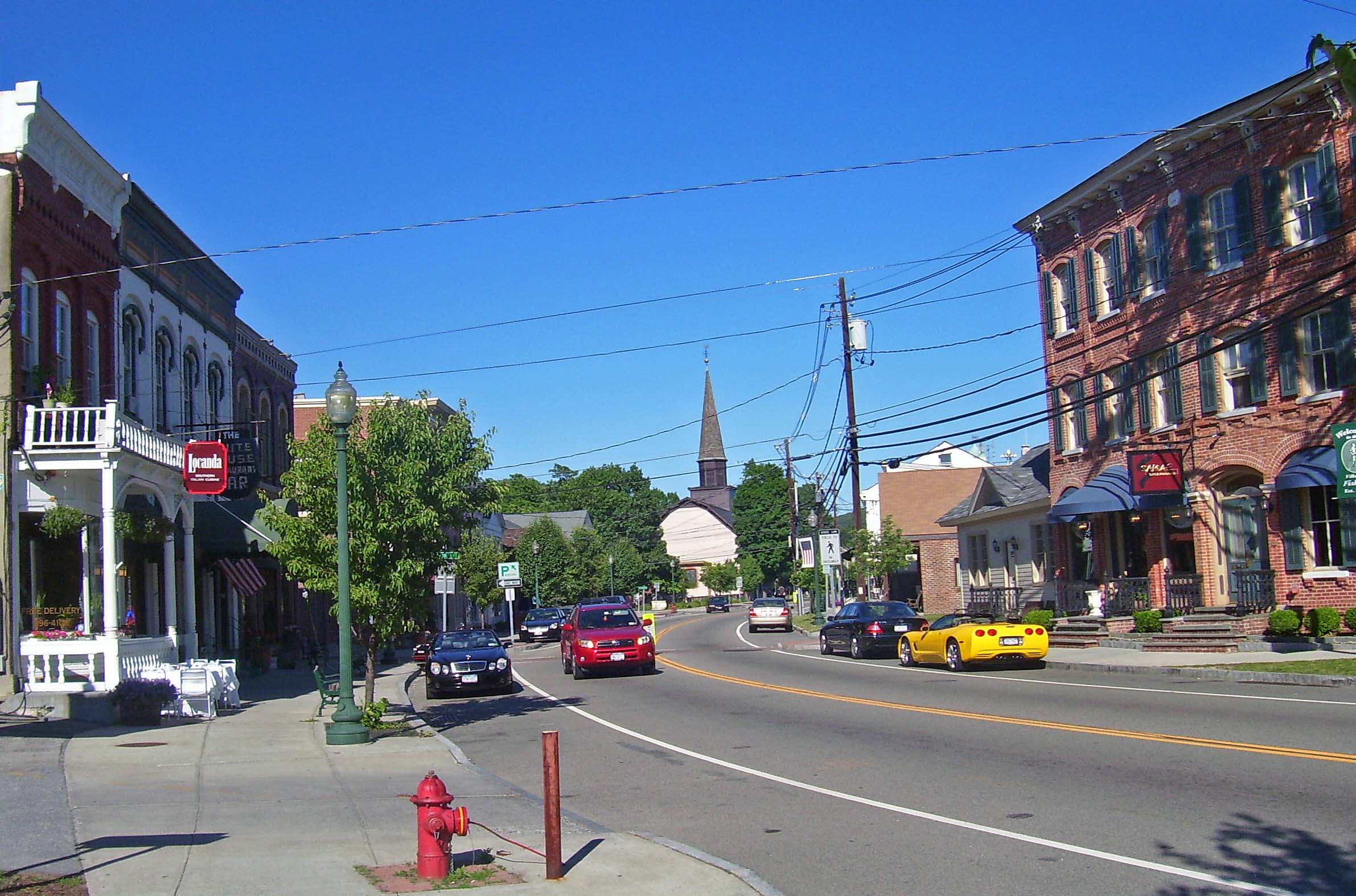 Town. Downtown Fishkill, NYfishkill town