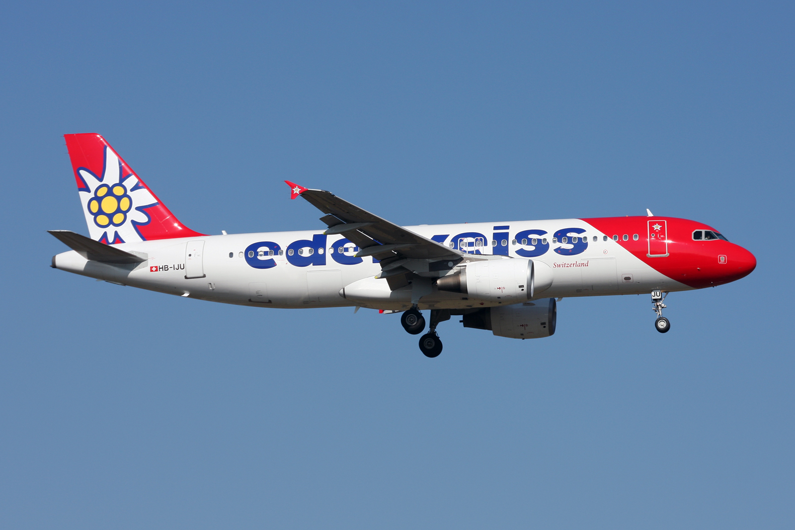 Punctual European Airlines in 2021 - edelweiss Air
