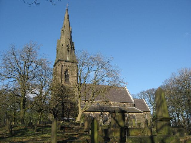 Emmanuel Church Holcombe - geograph.org.uk - 330268