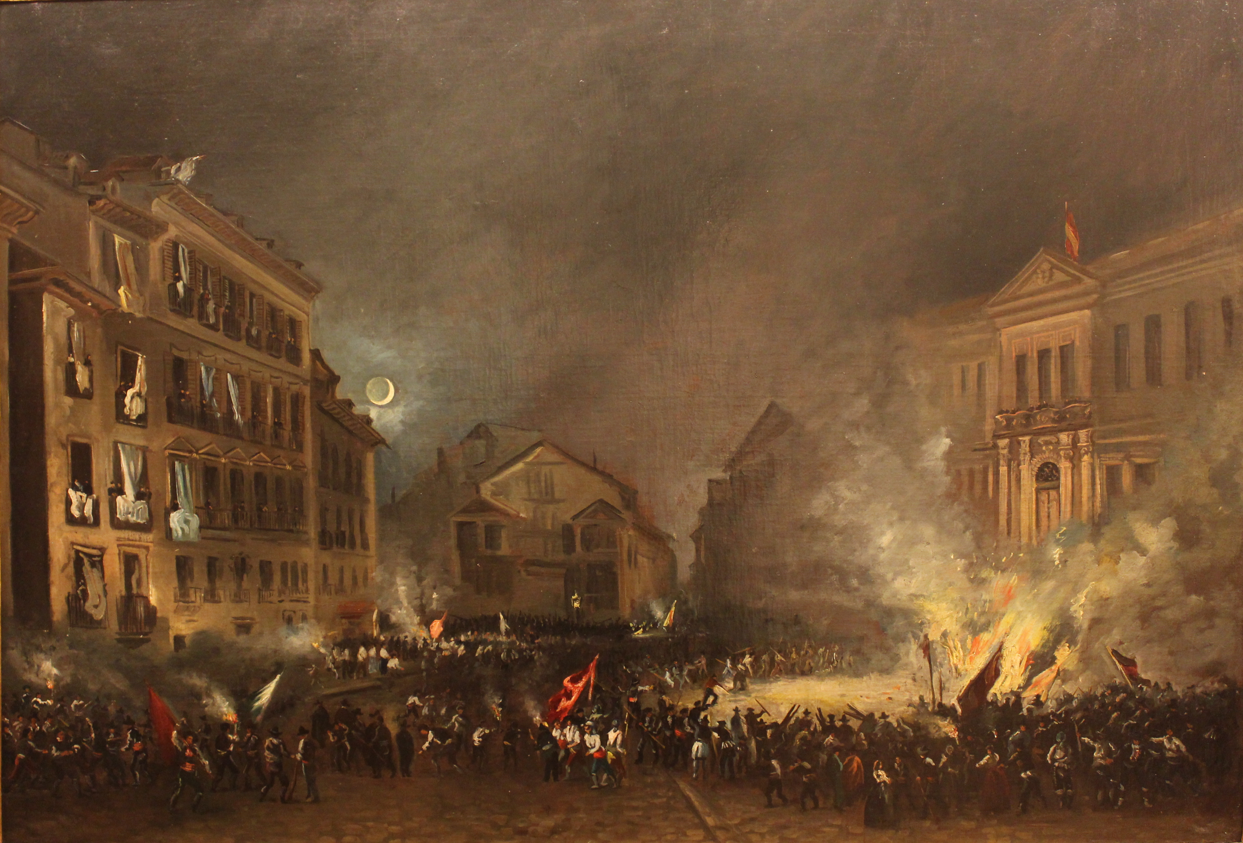 Spanish Revolution of 1854 - Wikipedia