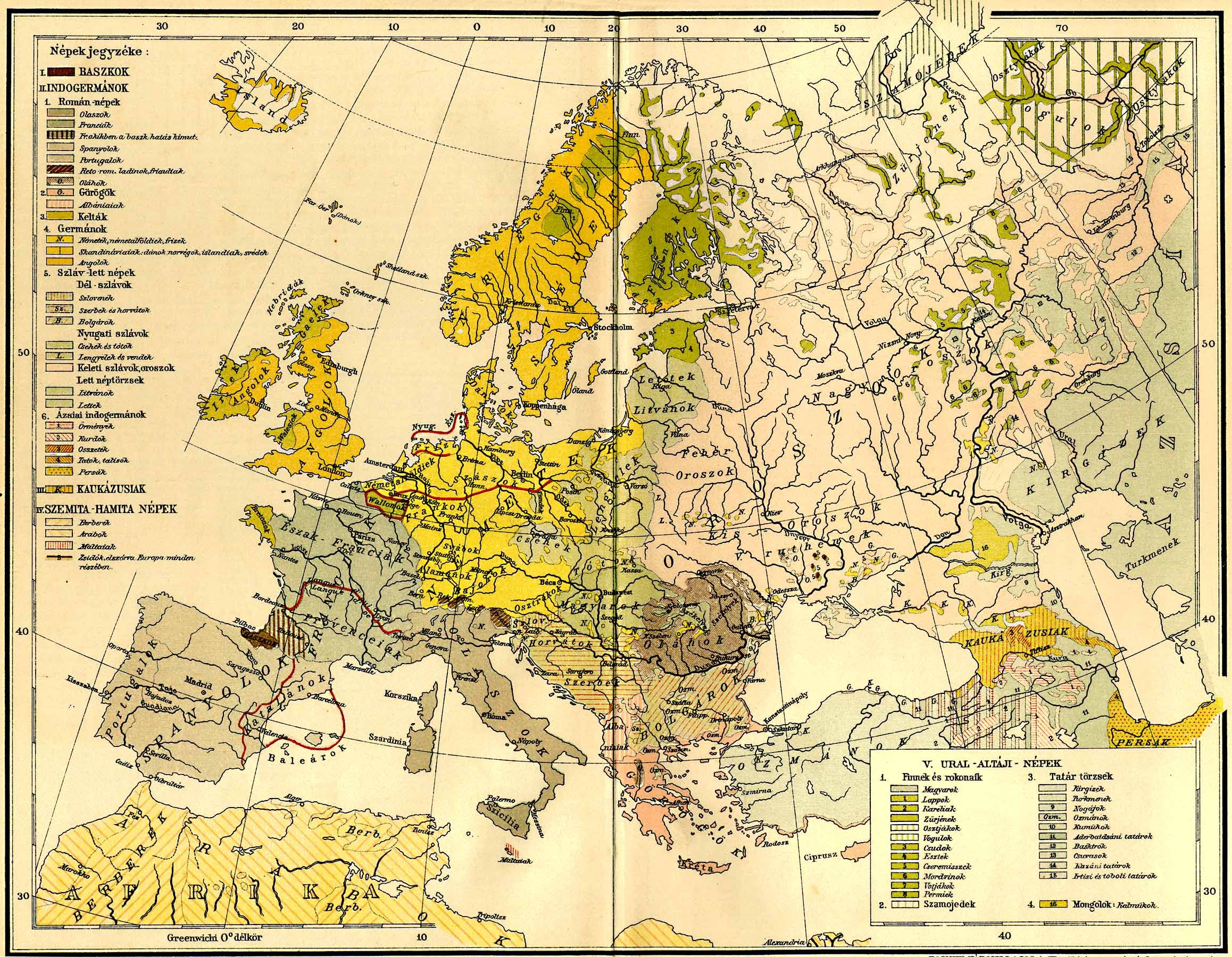 File:Europe ethnic map 1897 (hungarian).jpg - Wikimedia Commons on map of asia 1900, blank map europe 1800, map of spain, map of austria-hungary during ww1, map 10000 years in the future, map south america 1800, map with 7 emirates uae, map of absolute monarchs, map russia 1800, map in europe, map west indies 1800,