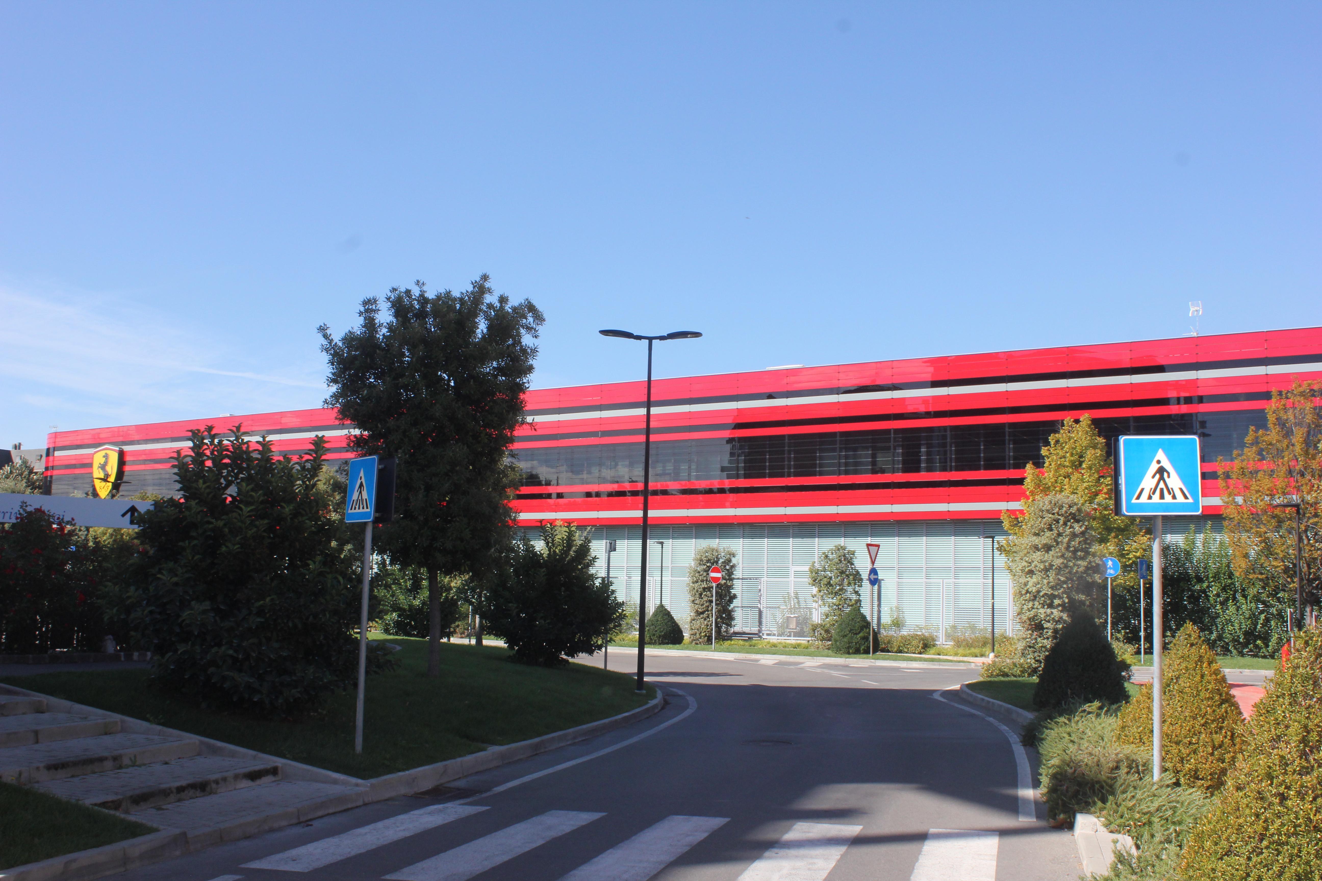 File Ferrari Headquarters Maranello Modena In 2018 02 Jpg Wikimedia Commons