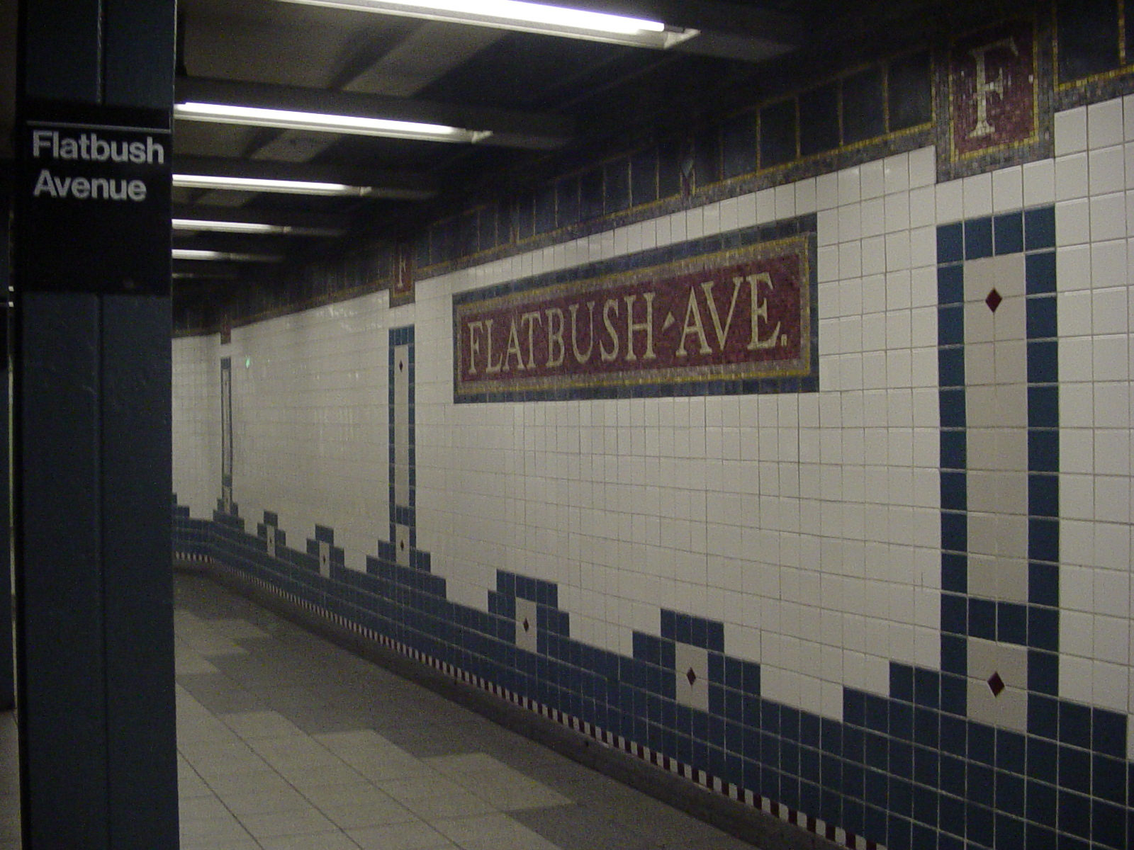 Subway Tile File Flatbush Avenue Brooklyn College Tile Jpg Wikimedia