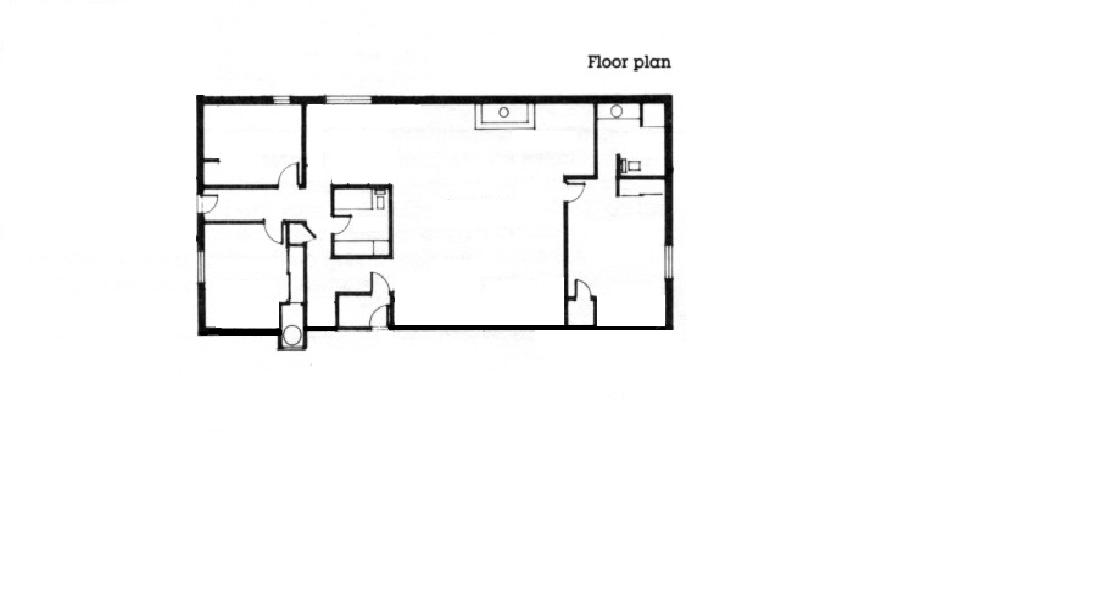 Floor Plan Of Sheltrx At Karjat Of Two Room Kitchen