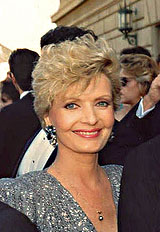 Florence Henderson at 1989 emmy Awards
