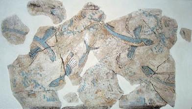 Flying fish fresco from Phylakopi