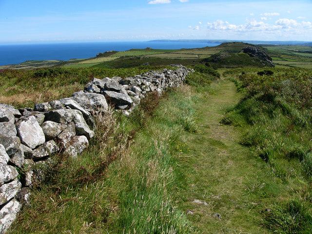Footpath on Garn Fawr - geograph.org.uk - 541159