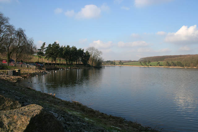From the dam at Thornton Reservoir - geograph.org.uk - 331927