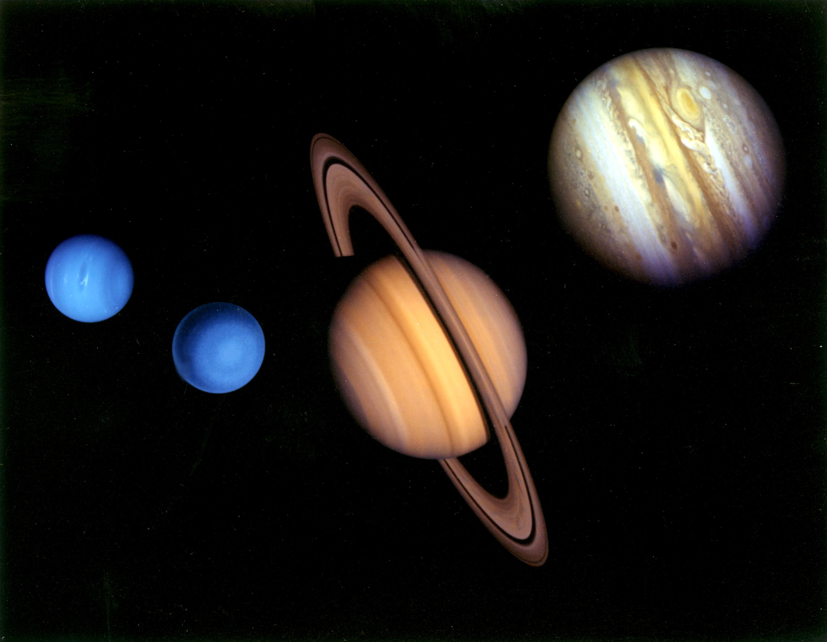 the name of the four gas giants - photo #17