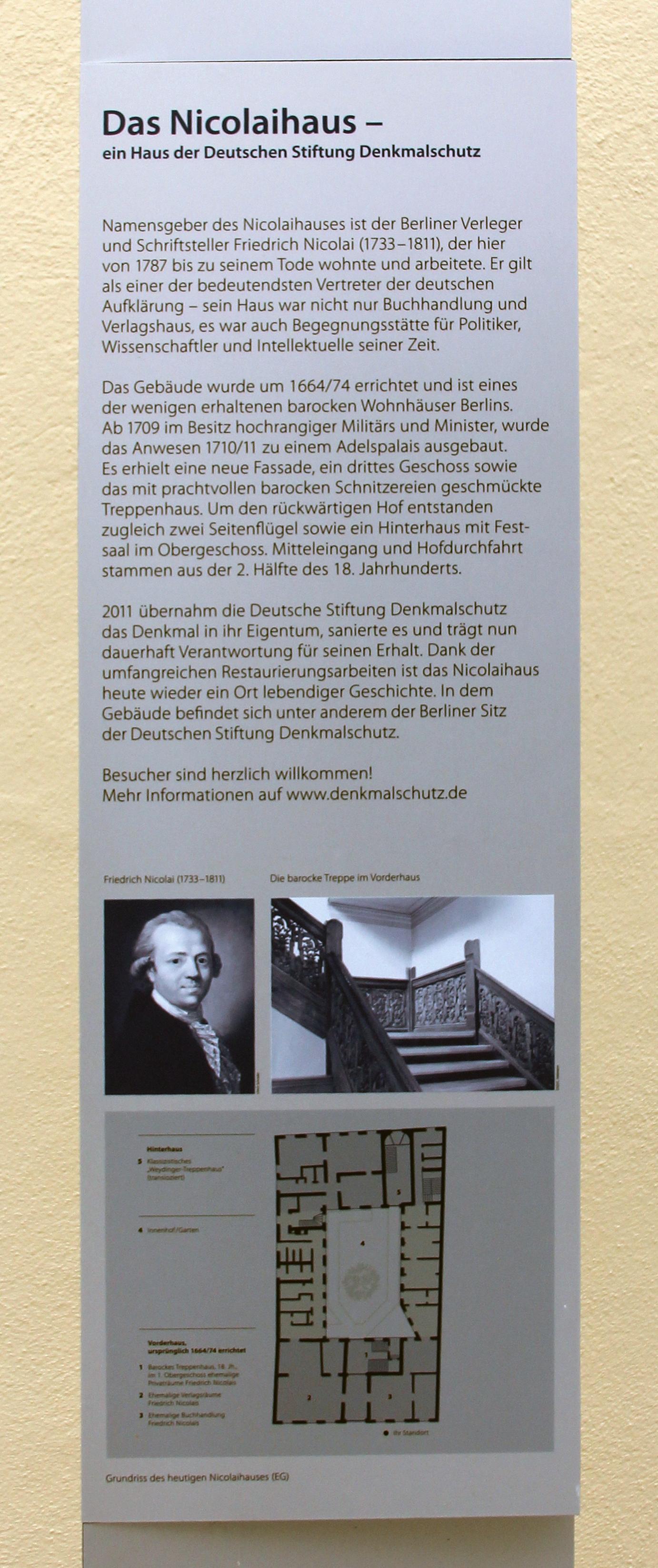 d162af93d8f4b1 File Gedenktafel Brüderstr 13 (Mitte) Nicolaihaus.jpg - Wikimedia ...