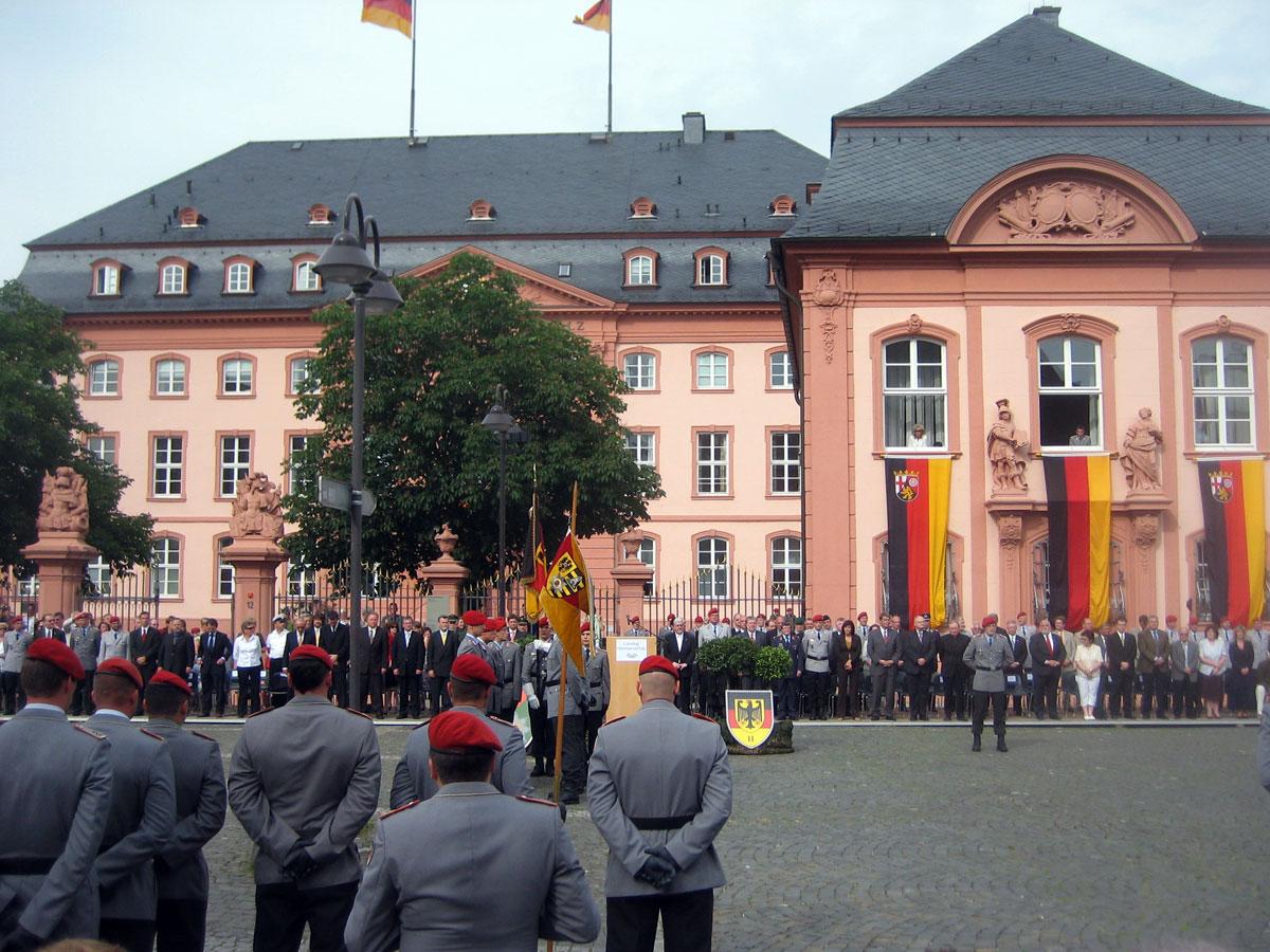 Öffentliches Gelöbnis in Mainz (2008)