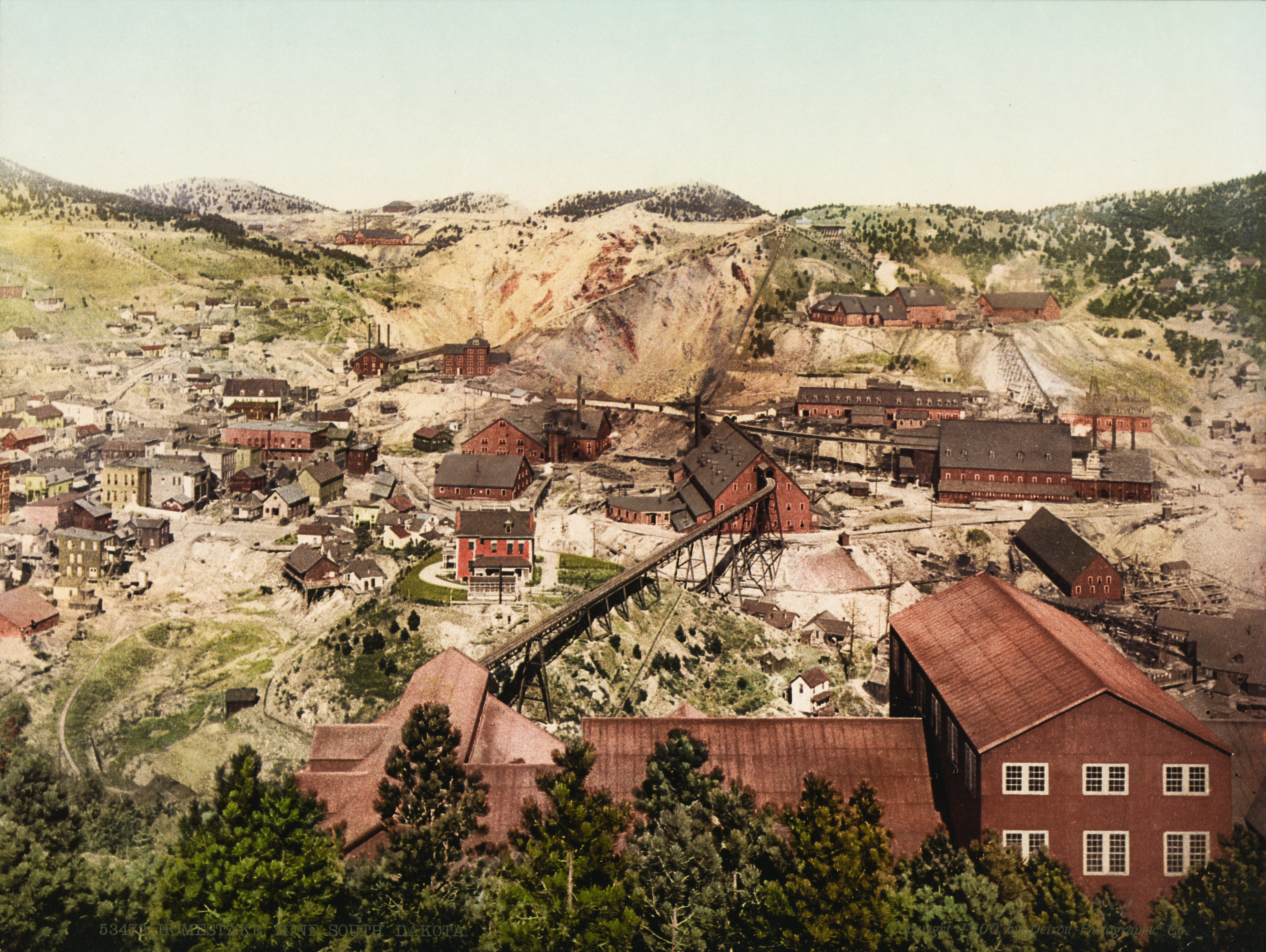 File Homestake Mine South Dakota 1900 Jpg Wikimedia