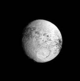 iapetus, saturn's moon 4