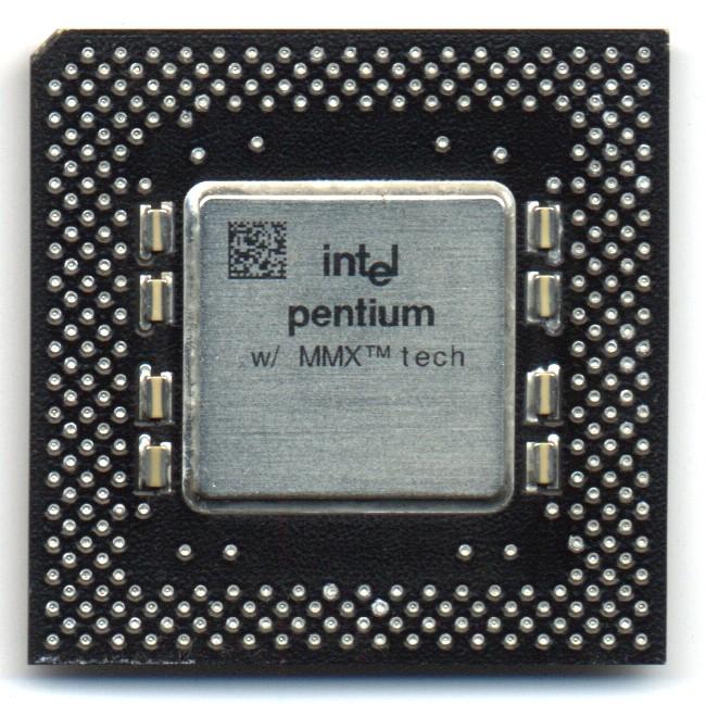 FileIntel Pentium MMX 166 PGA Front