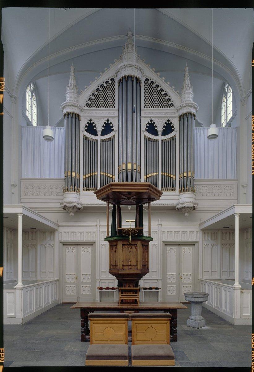 Datei:Interieur, aanzicht orgel, orgelnummer 1750 - Zeist - 20368996 ...