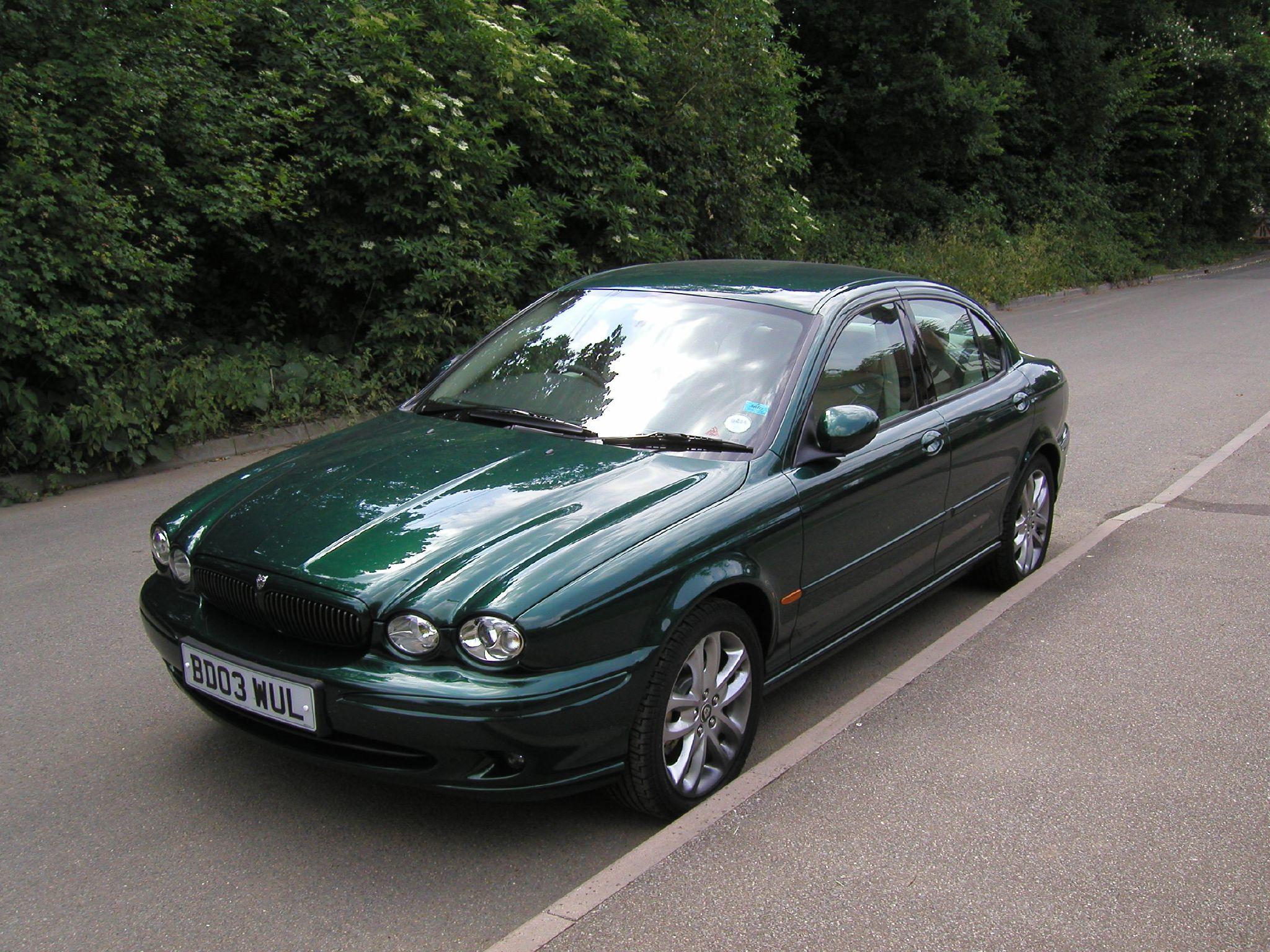 File:Jaguar X Type 3 Litre Sport. The Only Jag I Ever Had.