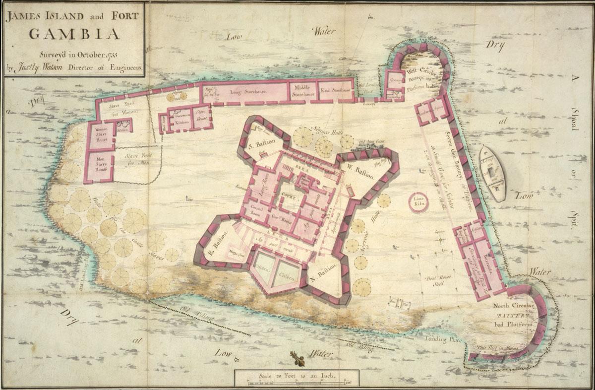 [√] Colonies françaises du Sénégal et de Gorée James_Island_and_Fort_Gambia