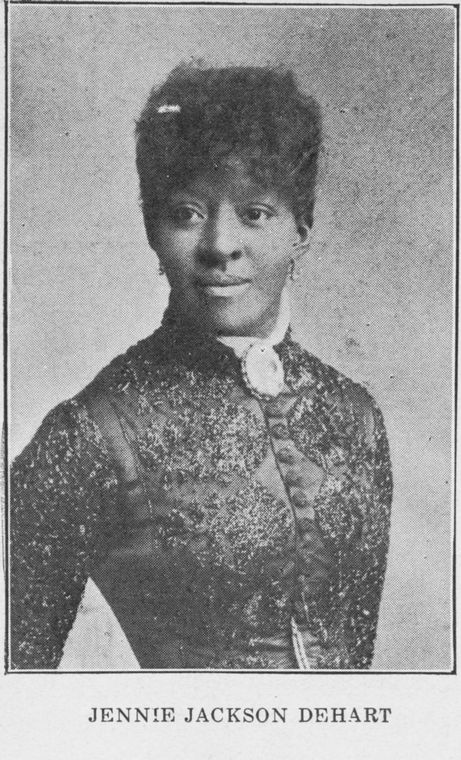 Jennie Jackson DeHart, from a 1911 publication.