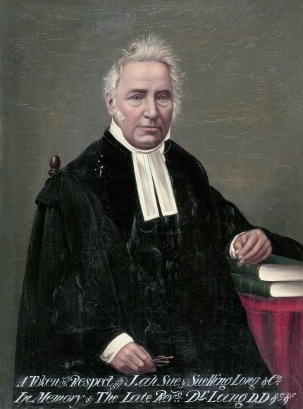 Posthumous portrait of Lang, circa 1888.