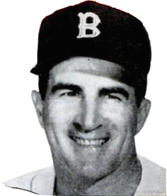 English: Boston Red Sox player Johnny Pesky in...