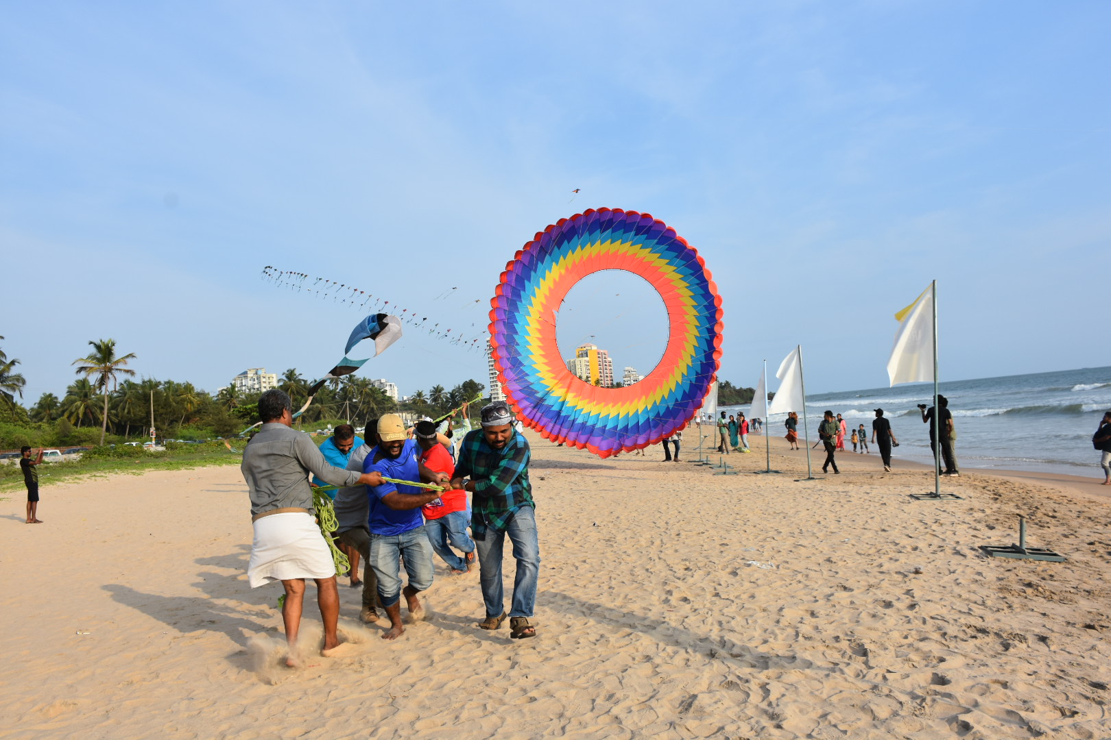 Kite festival in Panambur Beach