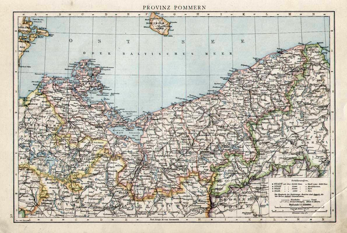 File Karte Provinz Pommern Jpg Wikimedia Commons