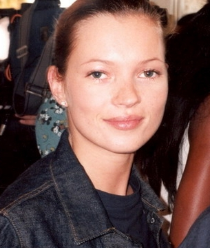 British supermodel Kate Moss