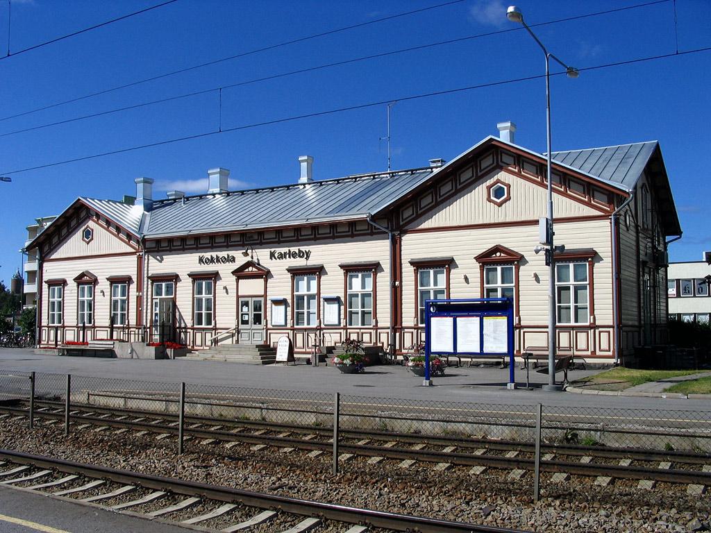 Kokkola Rautatieasema