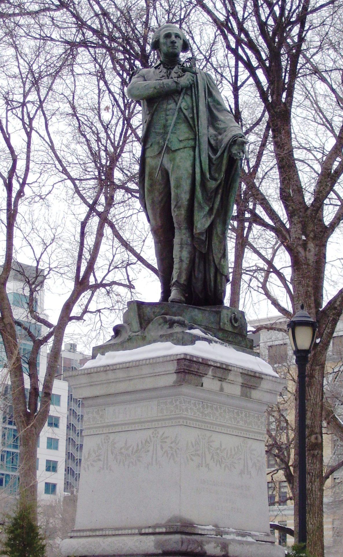 Marquis de lafayette bartholdi wikiwand