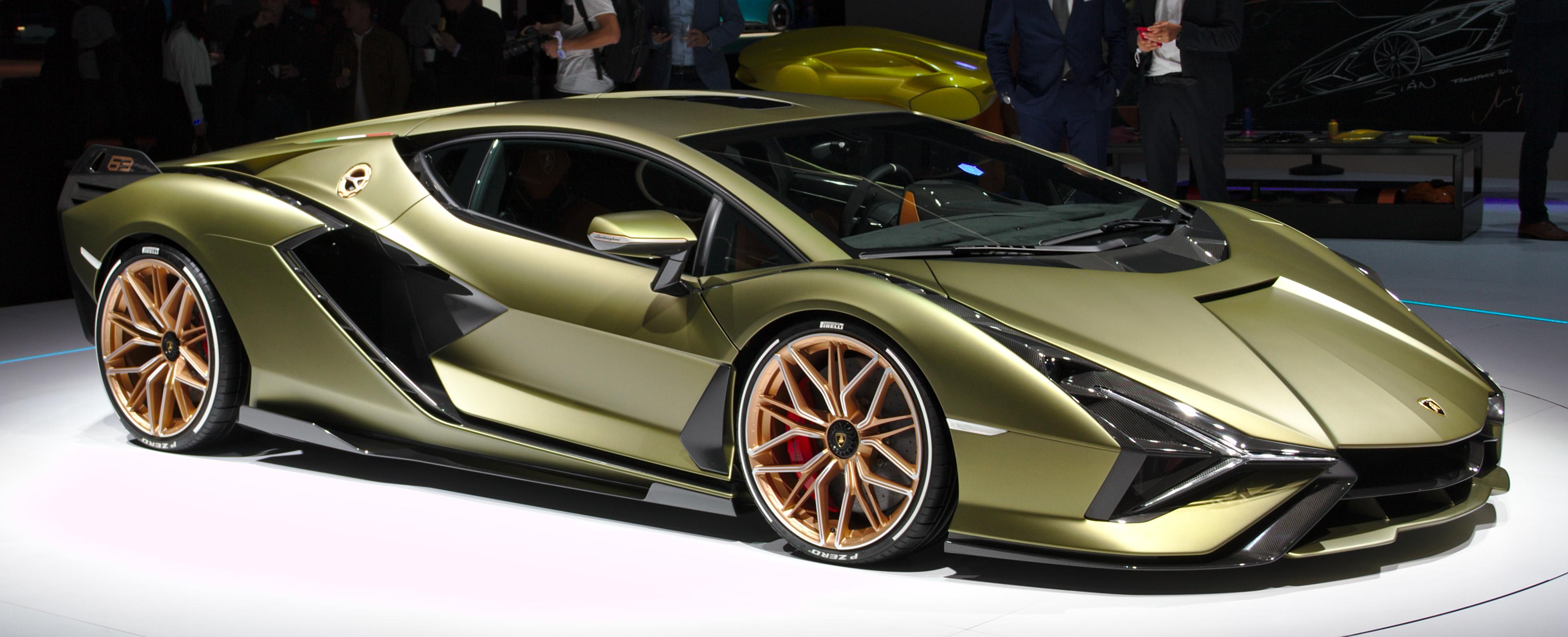 Lamborghini Sián FKP 37 – Wikipedia