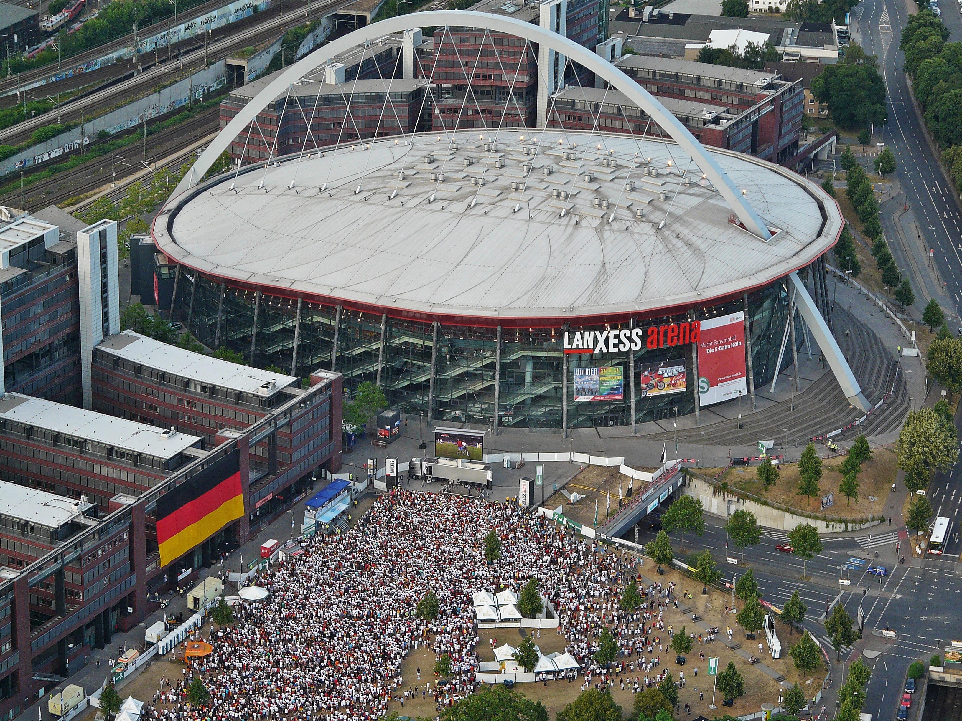 Plätze Lanxess Arena