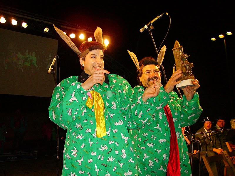 Celdoni Fonoll y Lloll Bertran en el Carnaval de Solsona