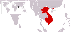 Location of Kwangchow Wan in French Indochina