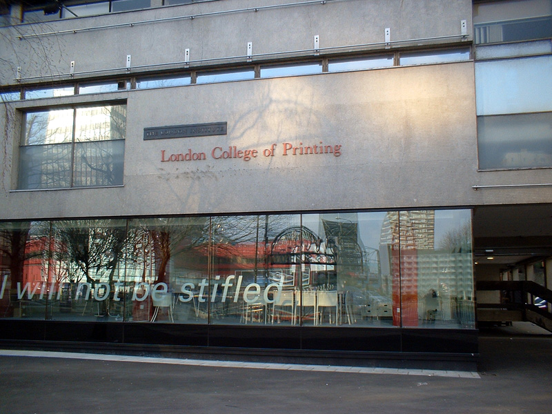 London Arts College Fashion