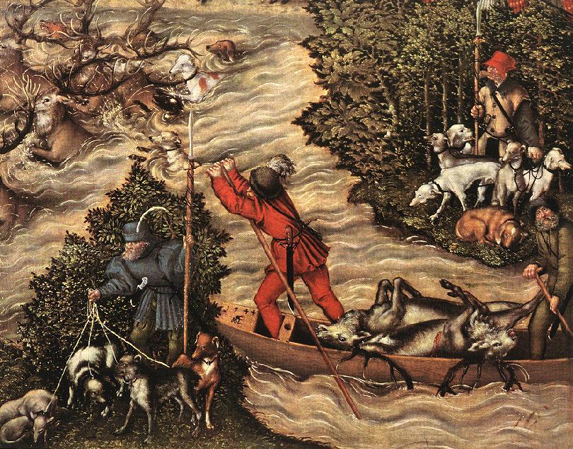 Depiction of Lucas Cranach el Joven