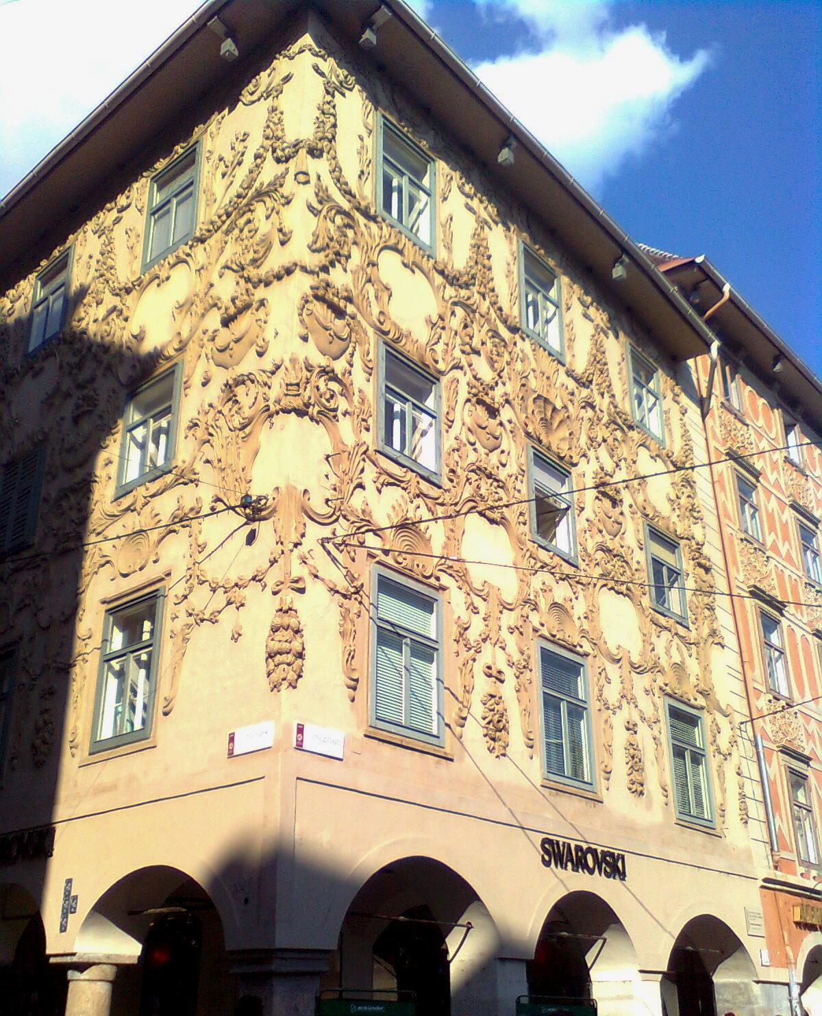 File Luegg Haus Graz Hauptplatz Sporgasse Wikimedia