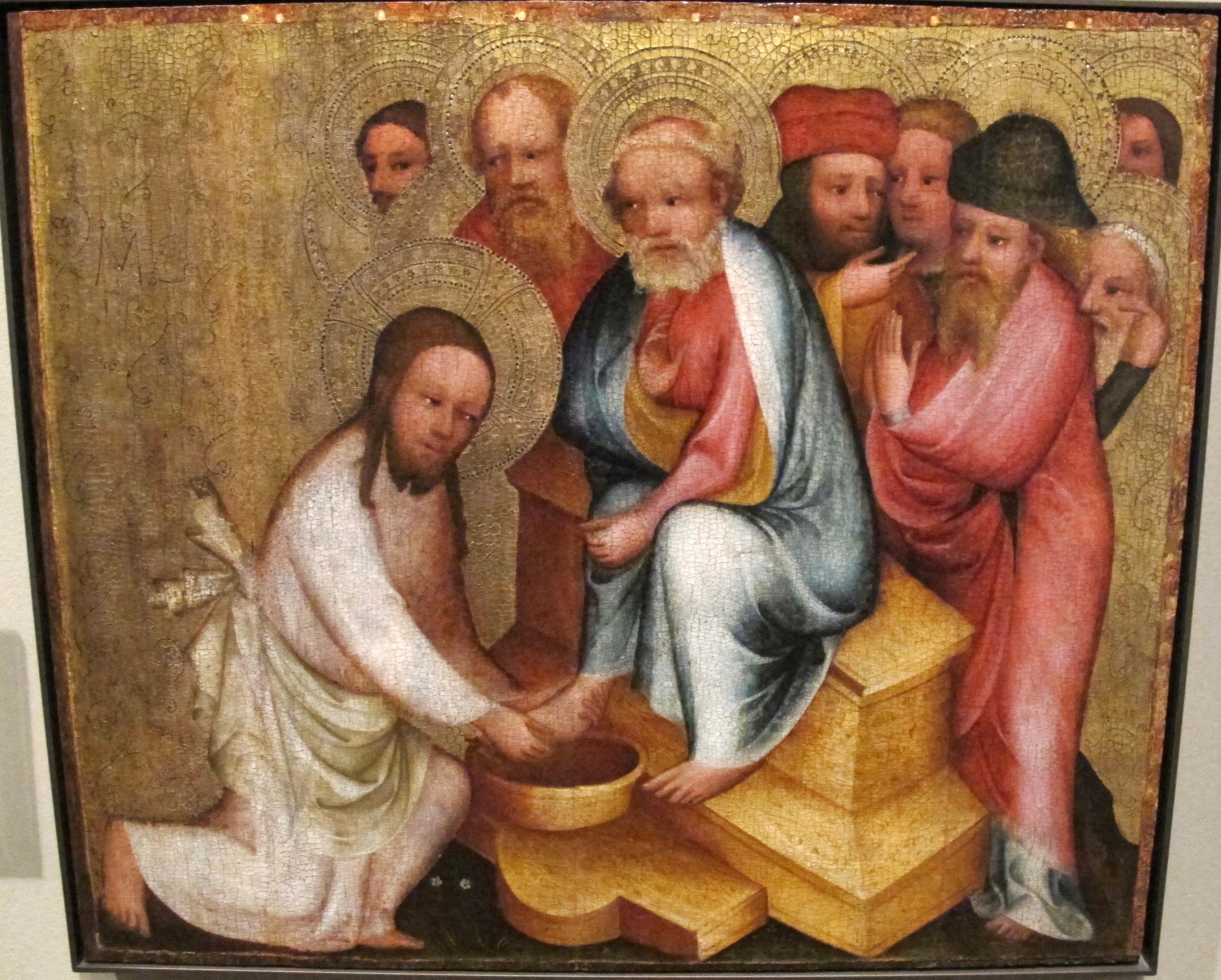 Maestro bertram di minden, lavanda dei piedi, Amburgo dans immagini sacre