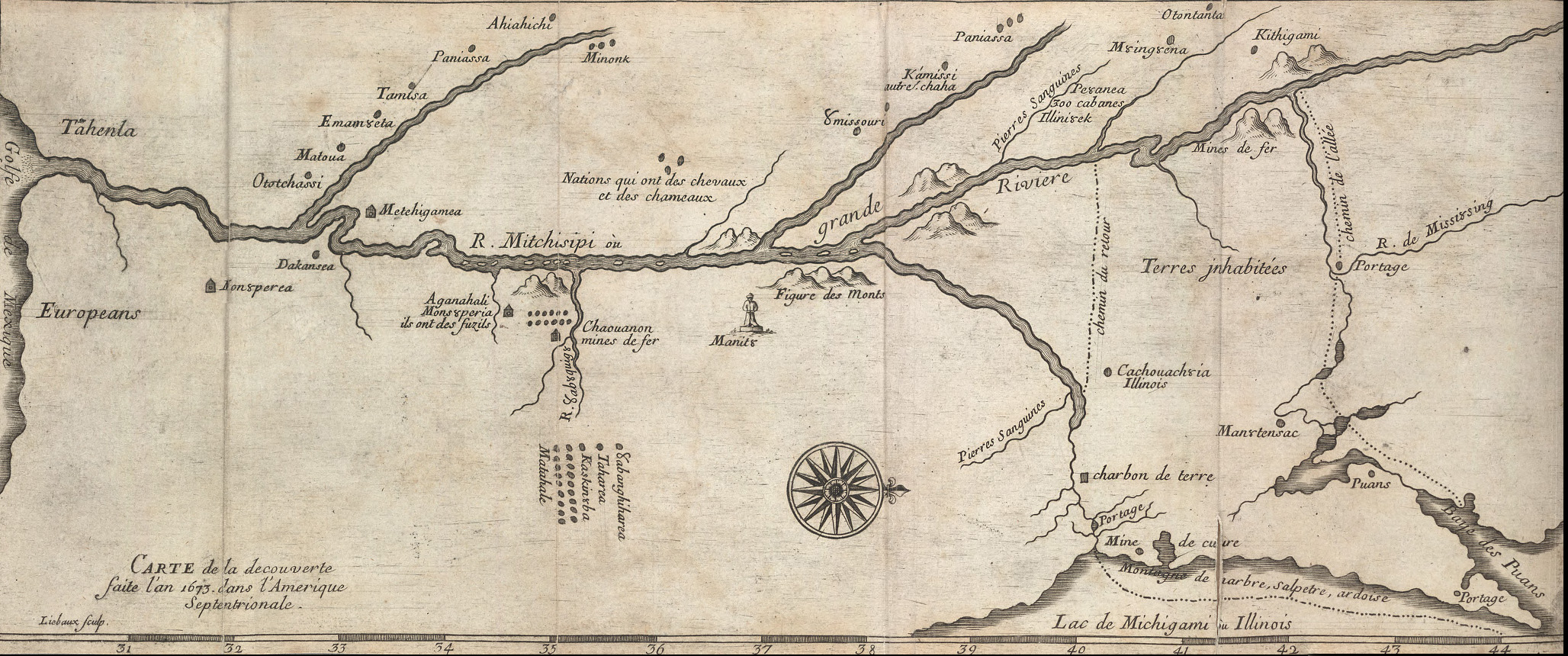 File:Marquette and jolliet map 1681.jpg