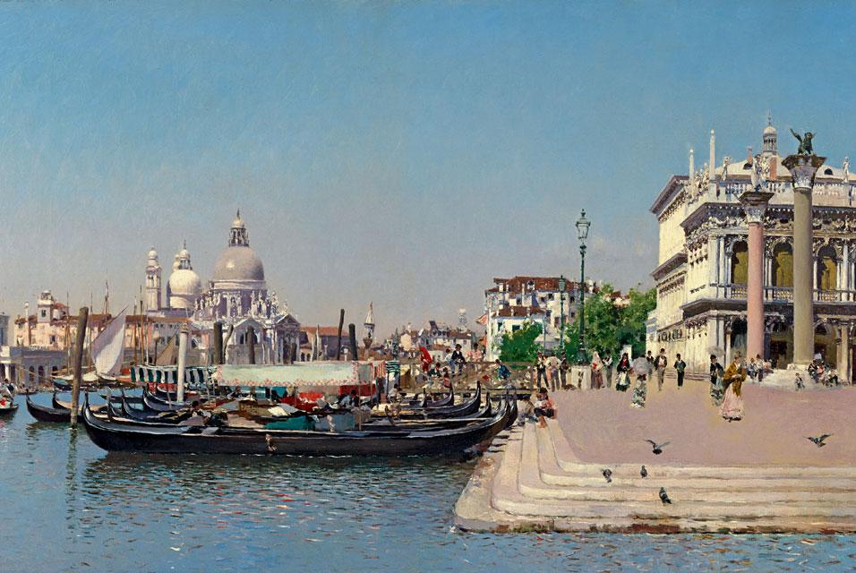Мартин Рико, Санта-Мария-делла-Салюте, Венеция, Калифорния. 1902.jpg