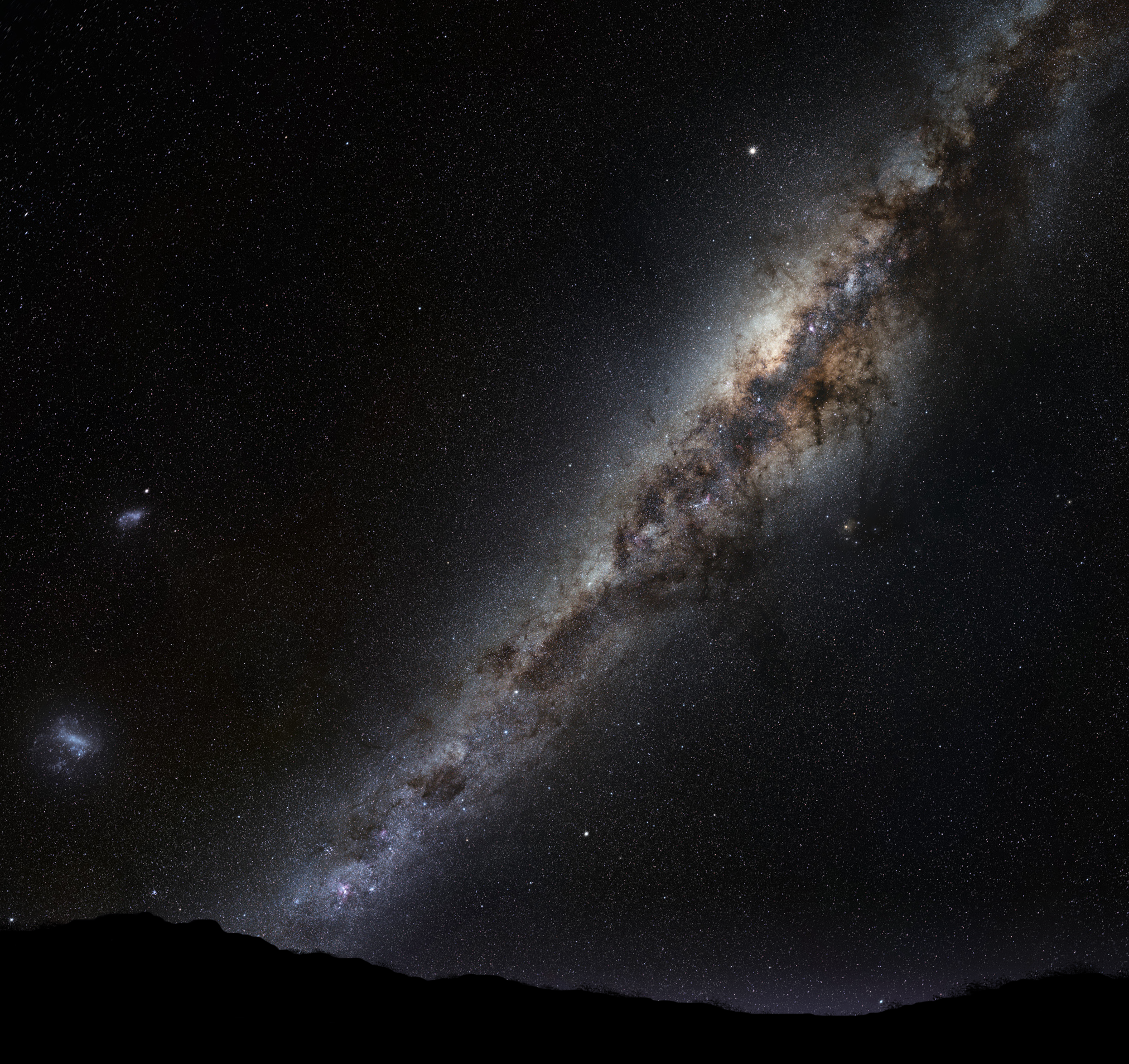 File Milky Way On Horizon Montage Png Wikimedia Commons