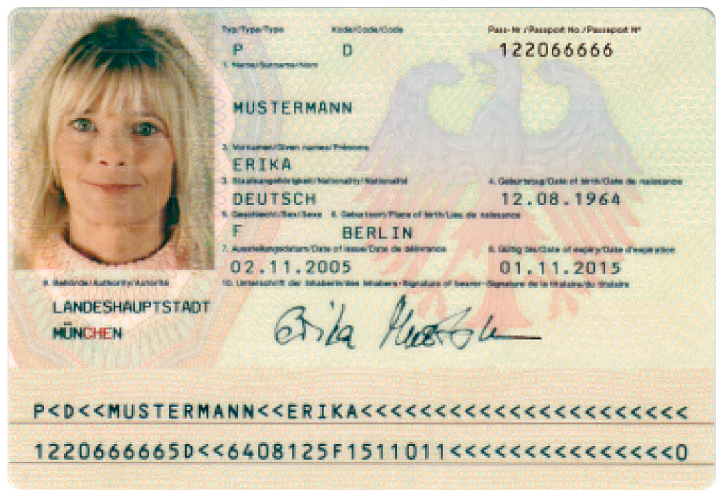 European Id Card Travel
