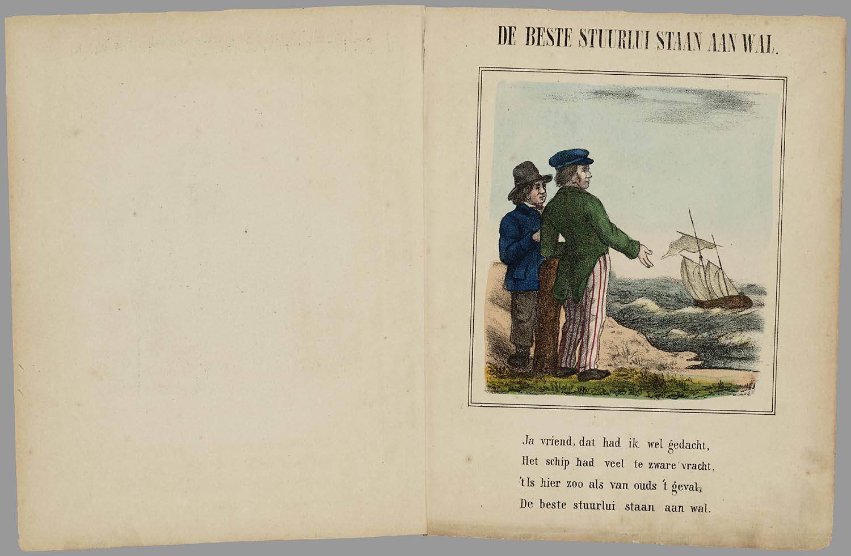 Bestandnederlandsche Spreekwoorden Prentenboek Voor