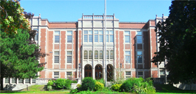 ONeill Collegiate and Vocational Institute School in Oshawa, Ontario, Canada