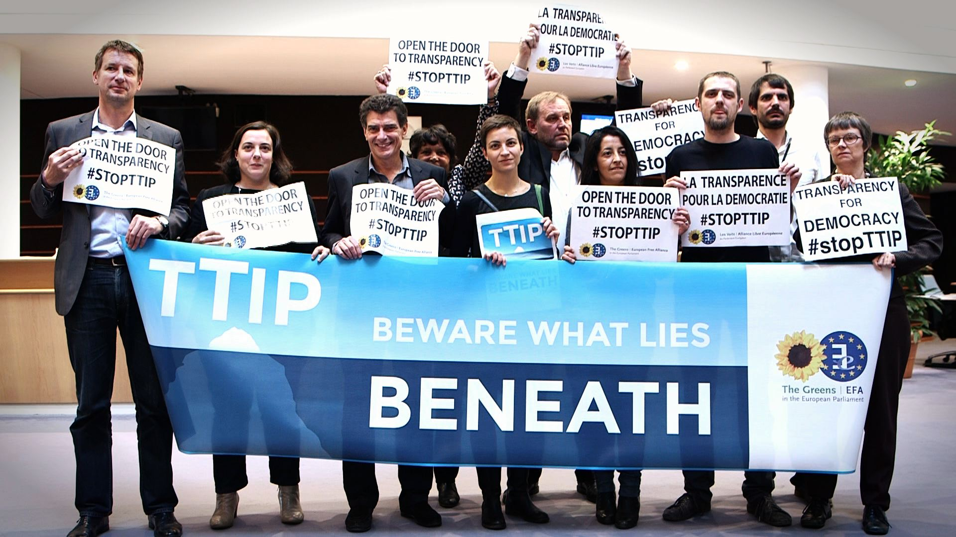 Open the Door to Transparency- -StopTTIP - 15542416215.jpg