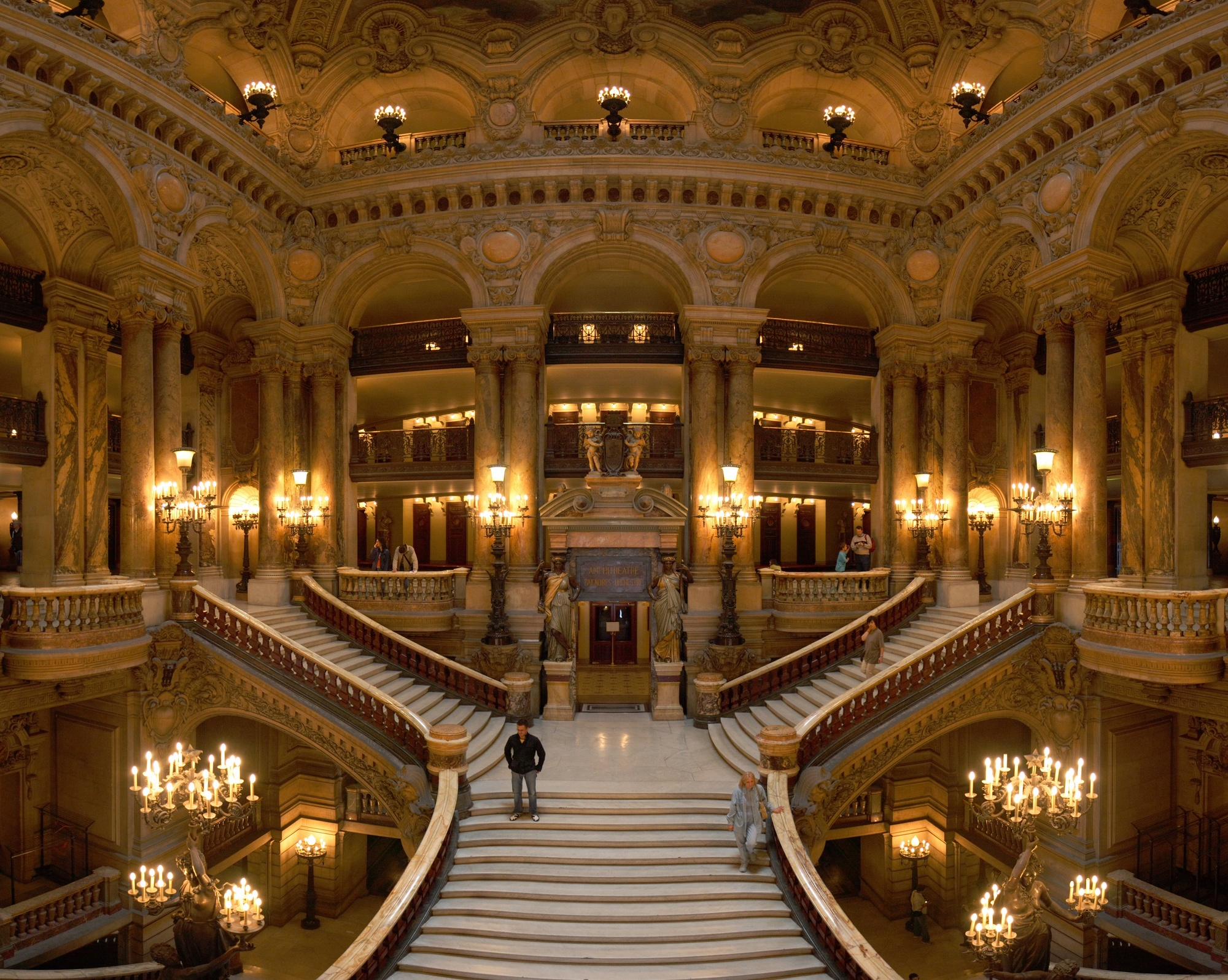 Palais garnier wikipedia the grand escalier aloadofball Images
