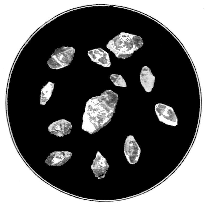 PSM V83 D031 Crystals of rhombic sulphur.png
