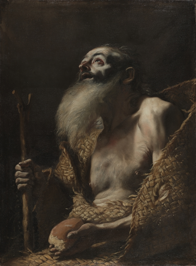 PaulHermitPretiMattia Preti's St. Paul the Hermit - Cleveland Museum of Art