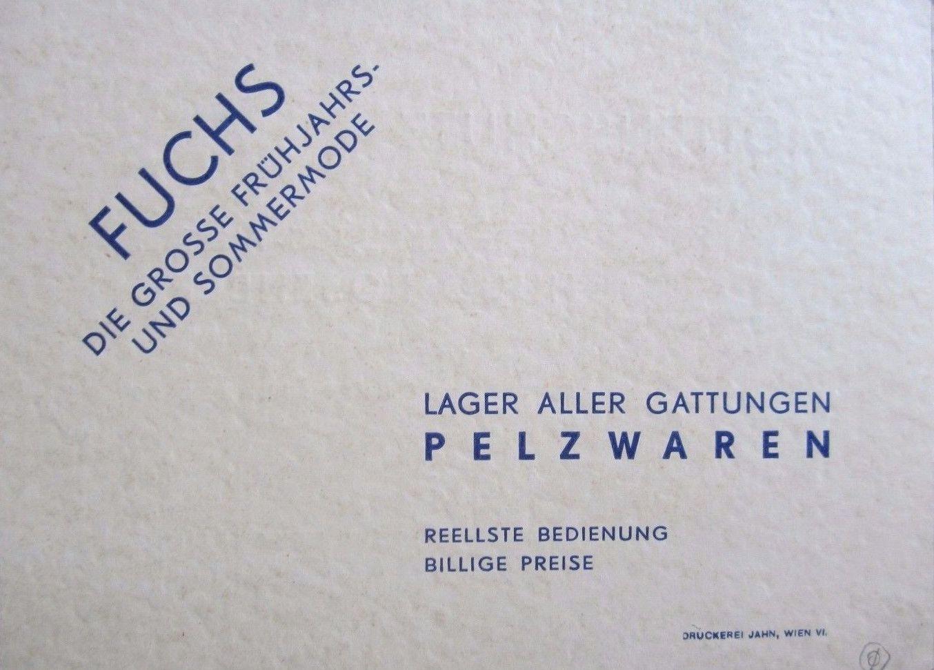 File Pelzhaus Hugo Rosenberg Wien Vi Visitenkarte 3