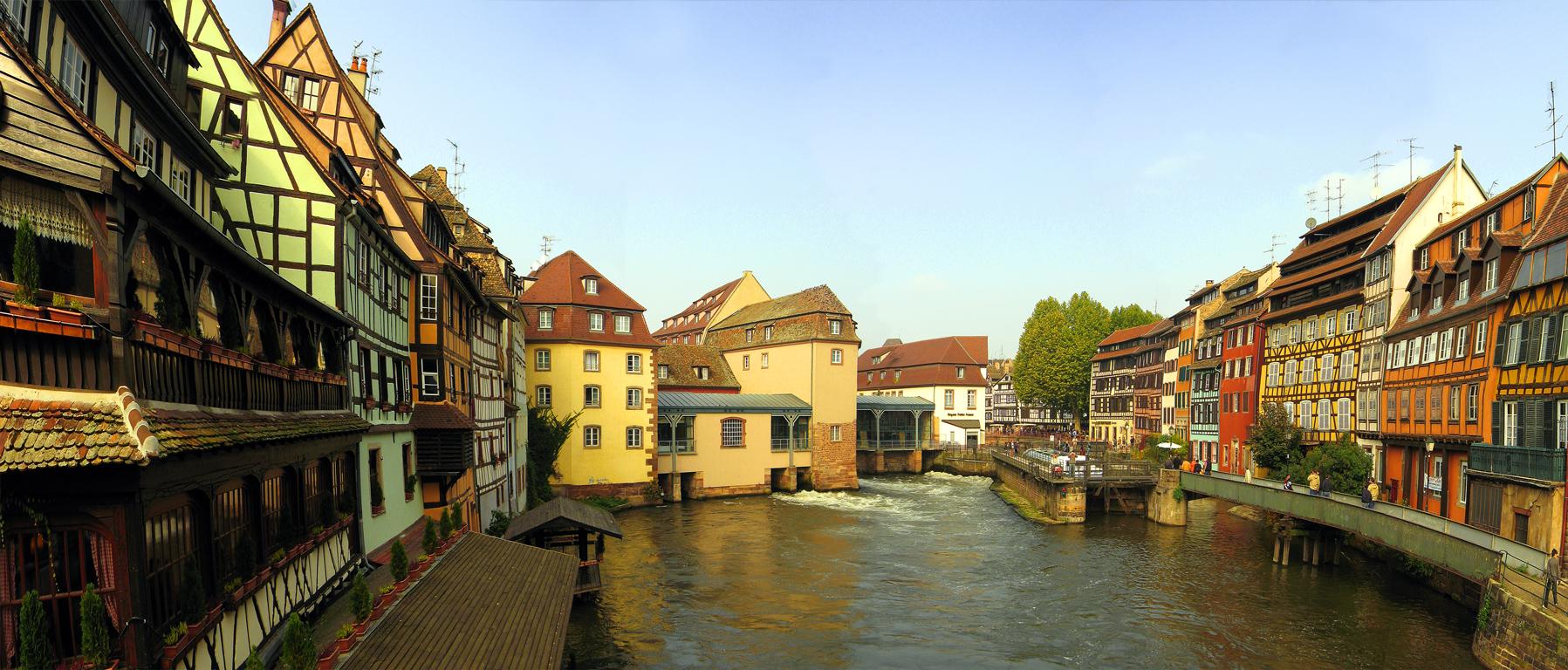 Mon top 10 villes au bord de l 39 eau n 9 strasbourg for K architecture strasbourg